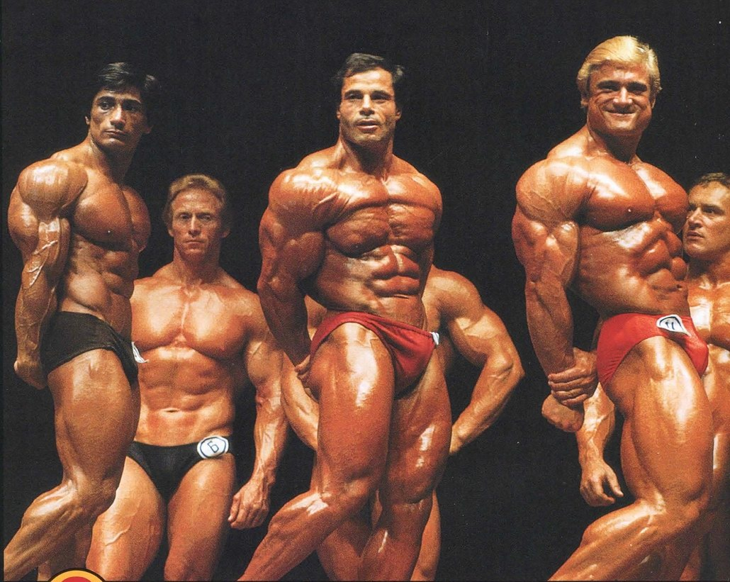 1981 Olympia - Side Triceps