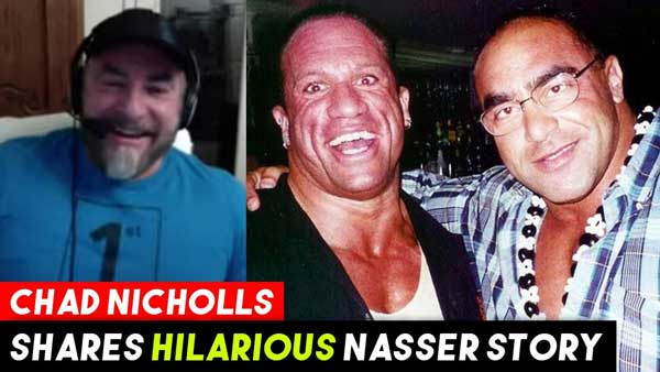 Chad Nicholls HILARIOUS Nasser Stories