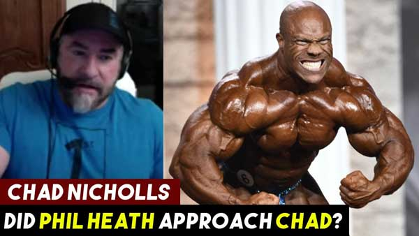 Did PHIL HEATH Approach Chad Nicholls After Olympia