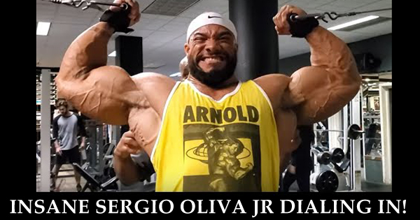 INSANE SERGIO OLIVA JR DIALING IN