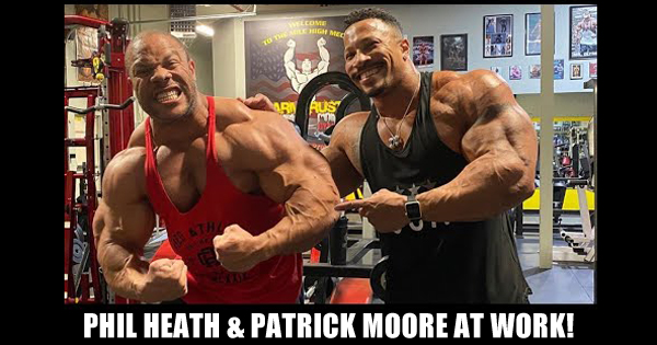 PHIL HEATH PATRICK MOORE AT WORK