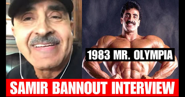 SAMIR BANNOUT ON 83 OLYMPIA WIN JOE WEIDER CONTROVERSY