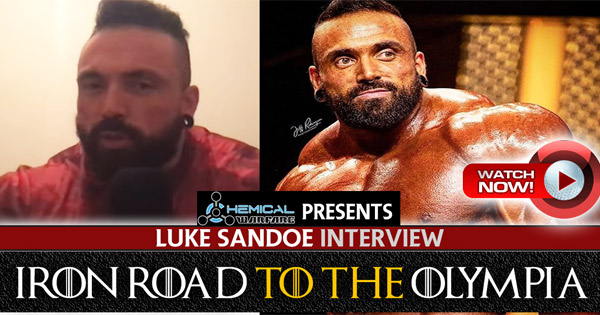 luke sandoe interview pre olympia 2019