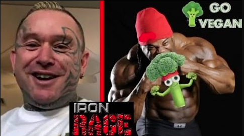 vegans iron rage lee priest