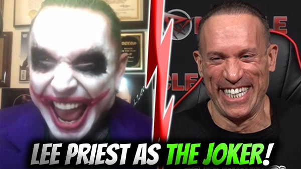 LEE PRIEST IS THE JOKER