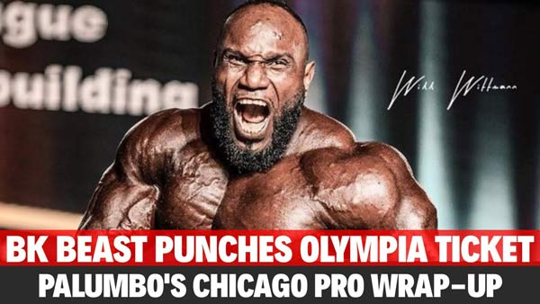AKIM WILLIAMS WINS CHICAGO PRO