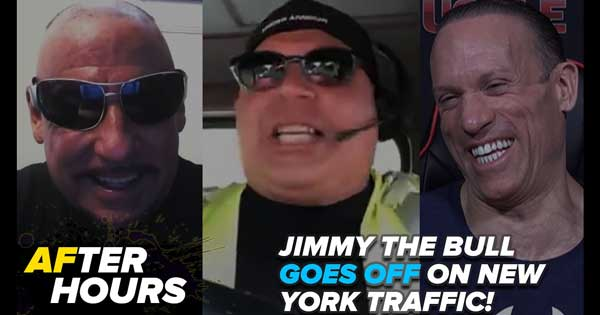 JIMMY LOSES HIS MIND OVER NEW YORK TRAFFIC