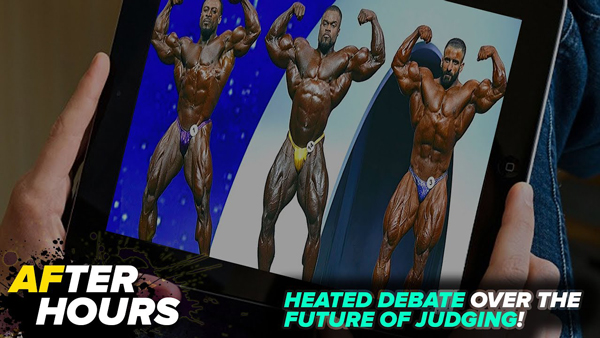 JUDGING BODYBUILDING IN THE MODERN ERa