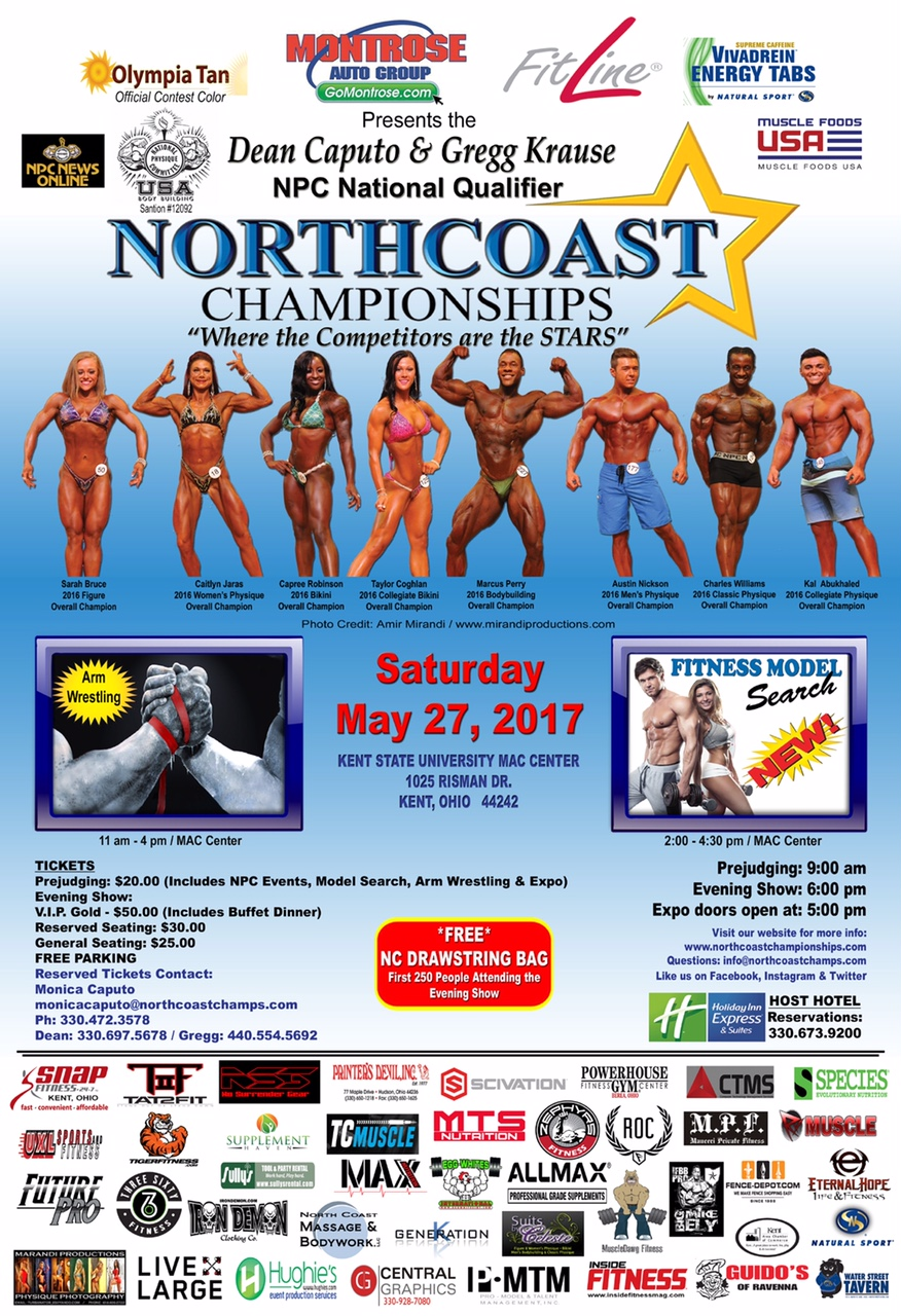 Northcoast Championships Show Poster 13x19 2.23.17 A sm