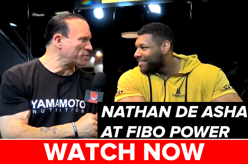 nathan de asha interview at fibo power 2017