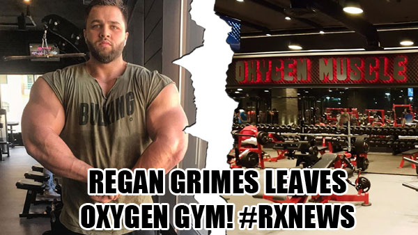 regan grimes leaves oxygen gym