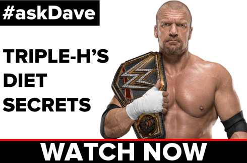 Triple H's Diet Secrets on #askDave