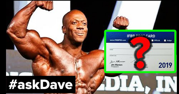 ask dave rhoden ifbb status