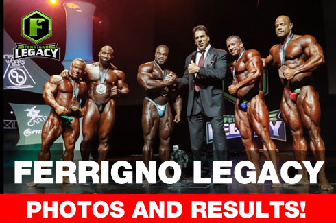 Ferrigno Legacy 2017 Results
