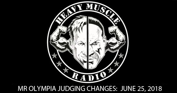 HMR mr olympia changes