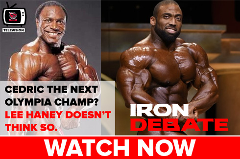 lee haney on cedric mcmillan iron debate