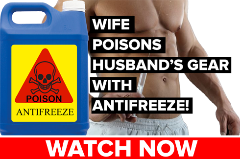 Bodybuilder Murdered with Antifreeze!