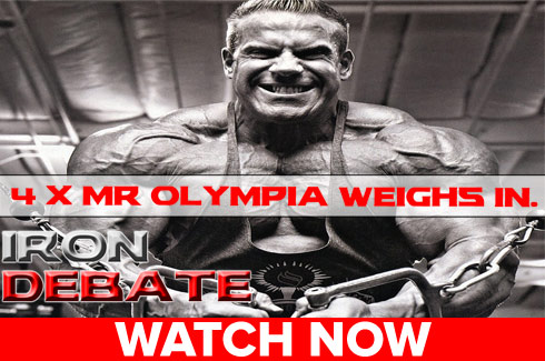 jay cutler previews olympia iron debate
