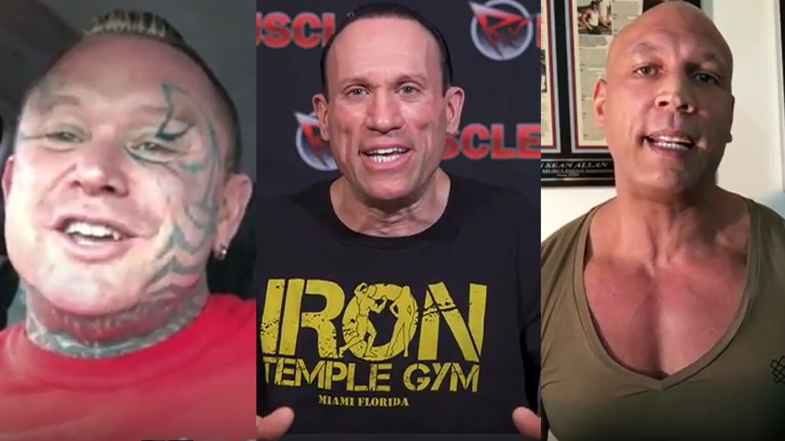 lee priest big sean allan iron rage