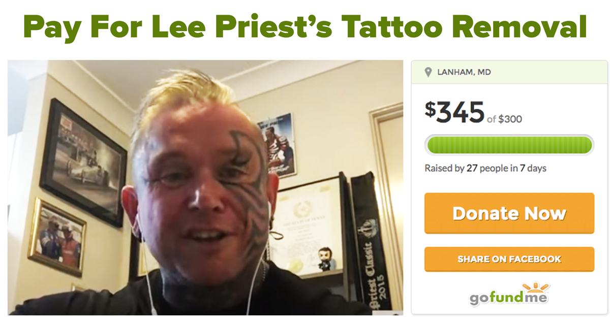 lee priest gofundme