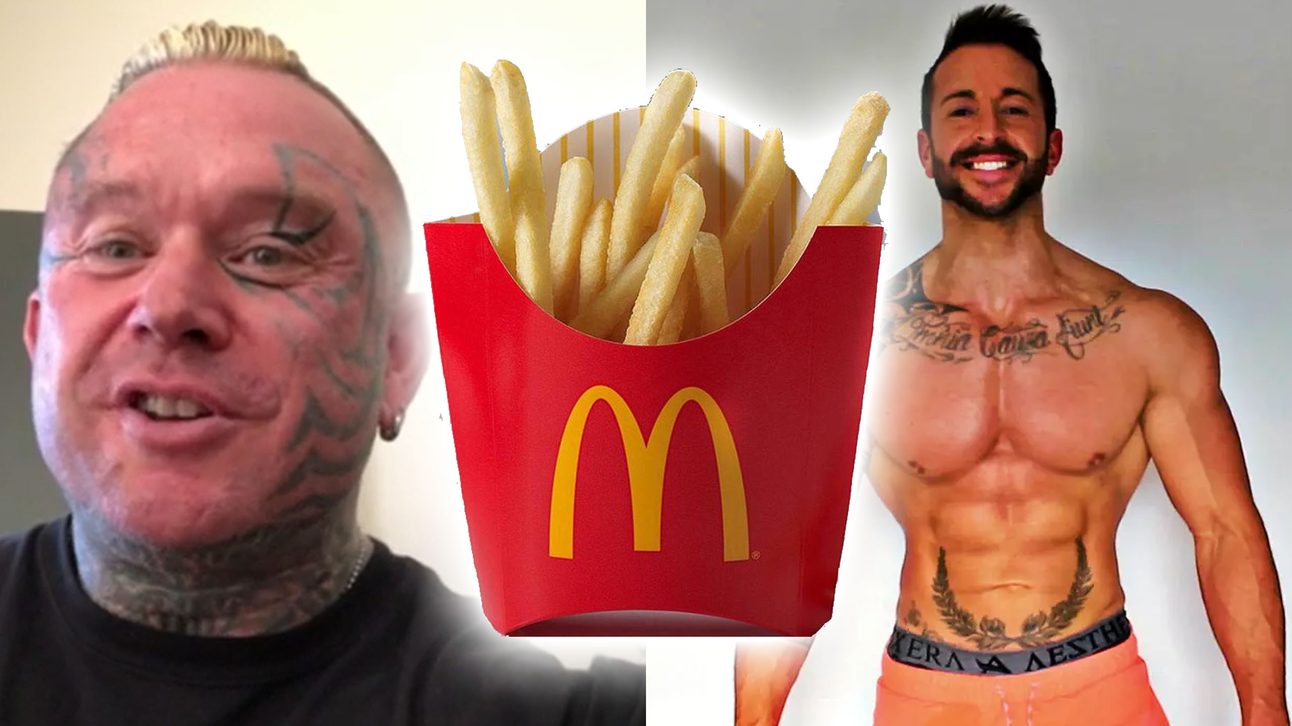 mcdonalds diet iron rage