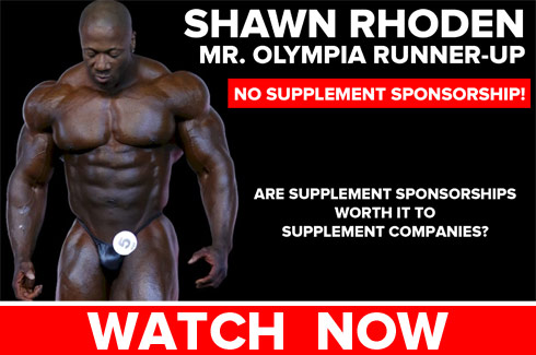 shawn rhoden supplement companies