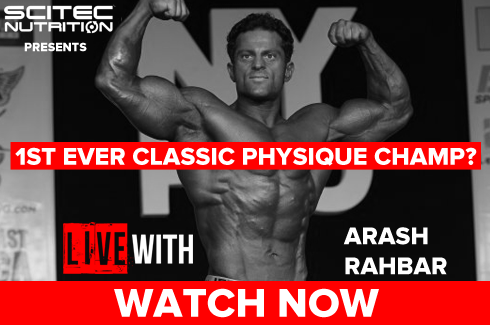 arash rahbar interview on rxmuscle before olympia 2016