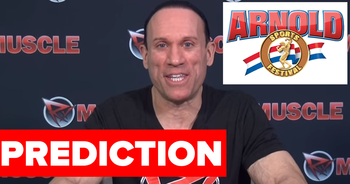 arnold classic 2018 predictions dave palumbo