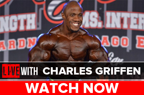 charles griffen bodybuilder interview