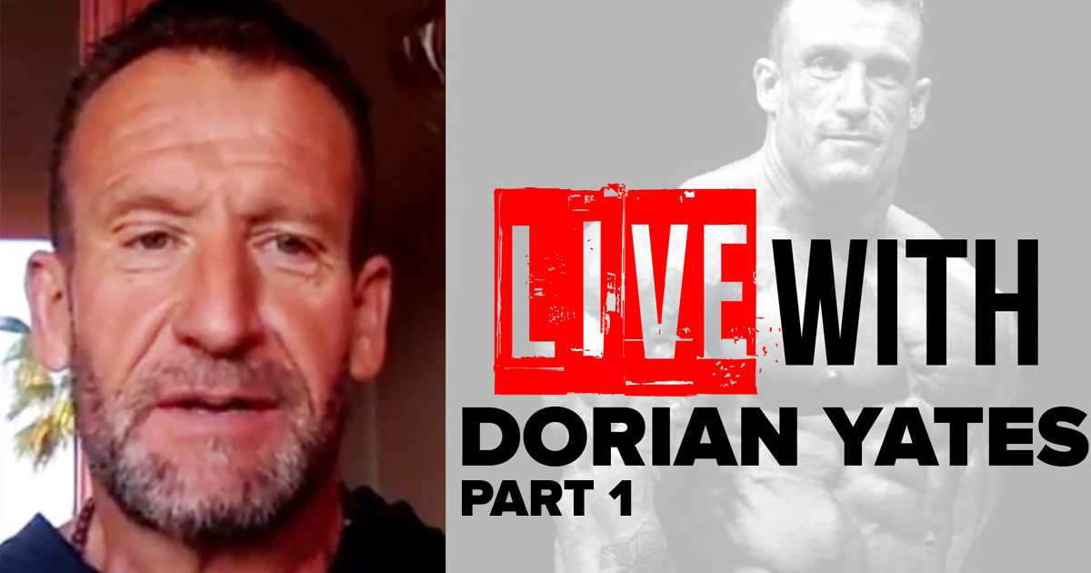 dorian yates interview