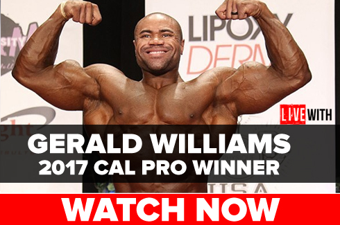 gerald williams bodybuilder interview rxmuscle