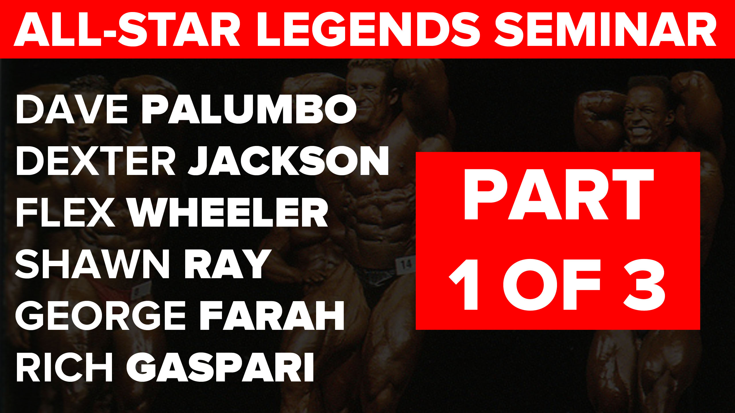 legends seminar part 1