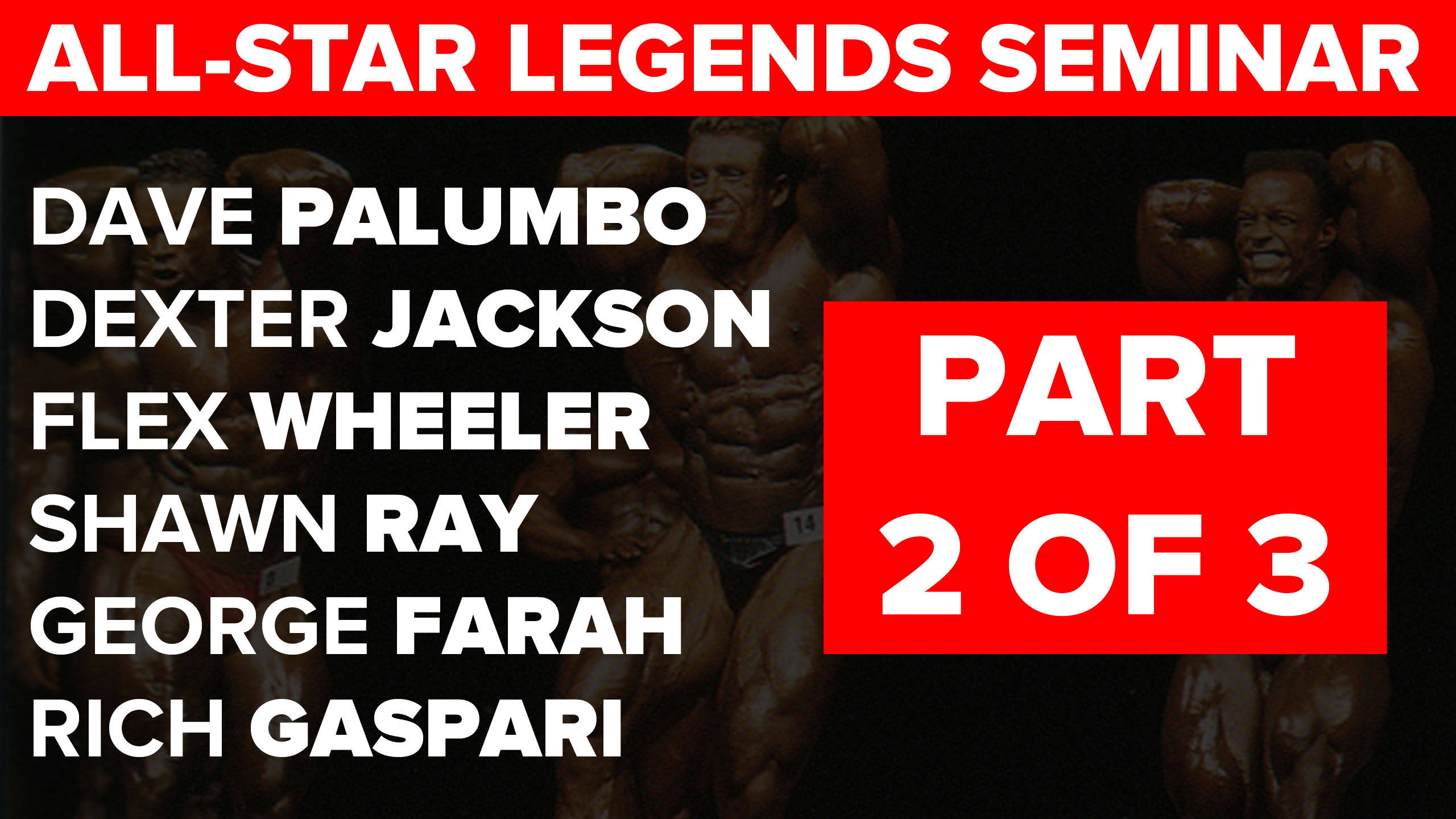 legends seminar part 2