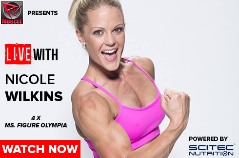 nicole wilkins interview live with rxmuscle