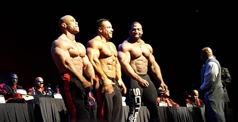 olympia 2016 press conference posedown