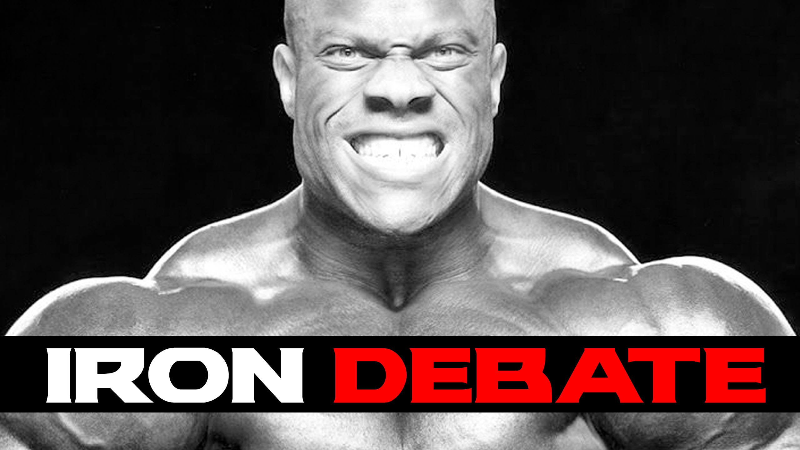 phil heath iron debate 2018
