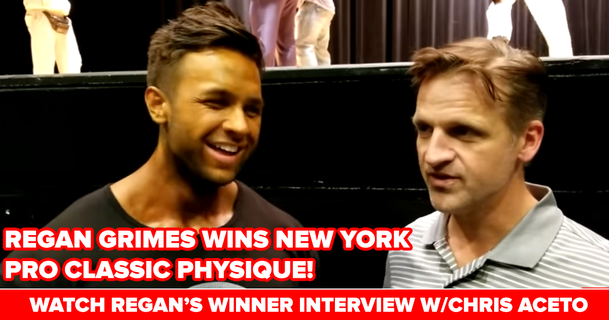 regan grimes interview after new york pro