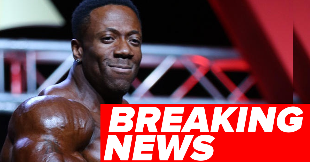 shawn rhoden out of arnold classic
