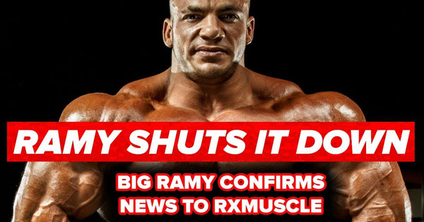 big ramy will not compete