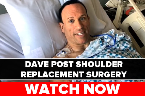 dave palumbo post shoulder surgery