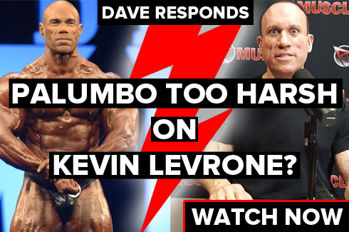 dave palumbo responds to kevin levrone related criticism