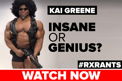 kai greene rant palumbo rxmuscle