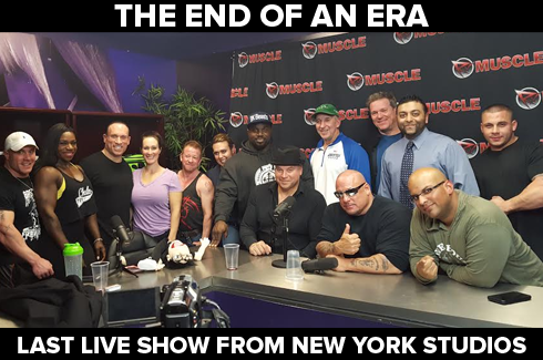 last live show from new york rxmuscle studios