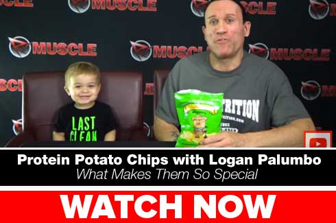 protein potato chips with logan