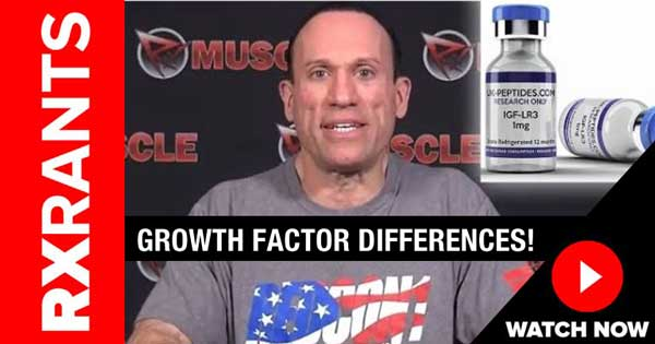 rant growth factor differences