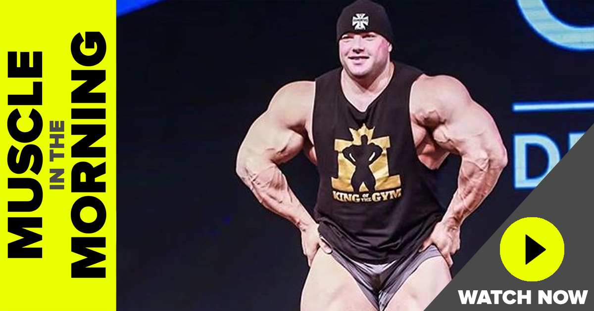 josh lenartowicz on muscle in the morning