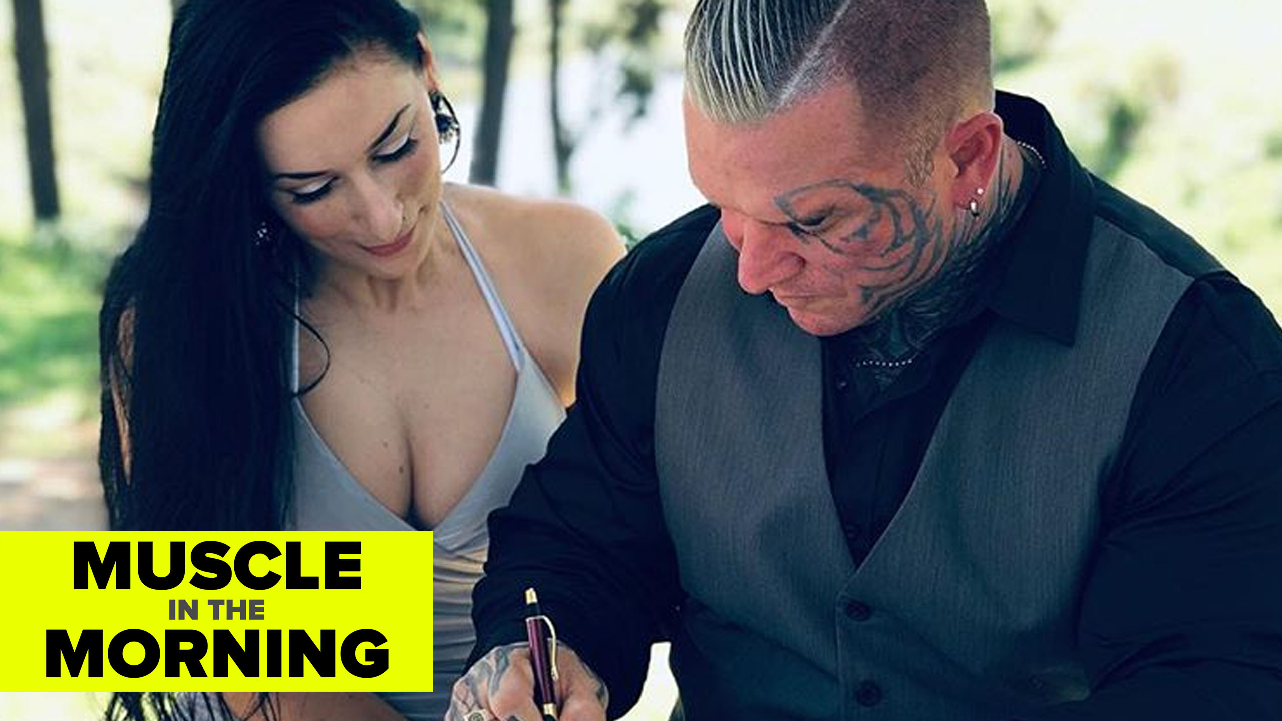 lee priest wedding