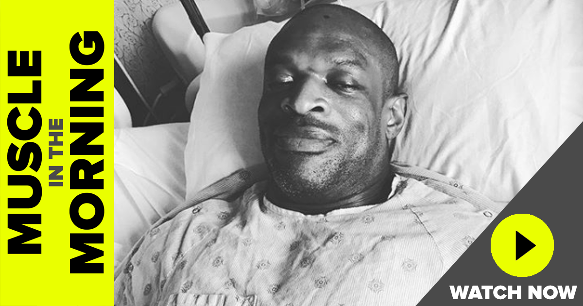 ronnie coleman surgery recovery