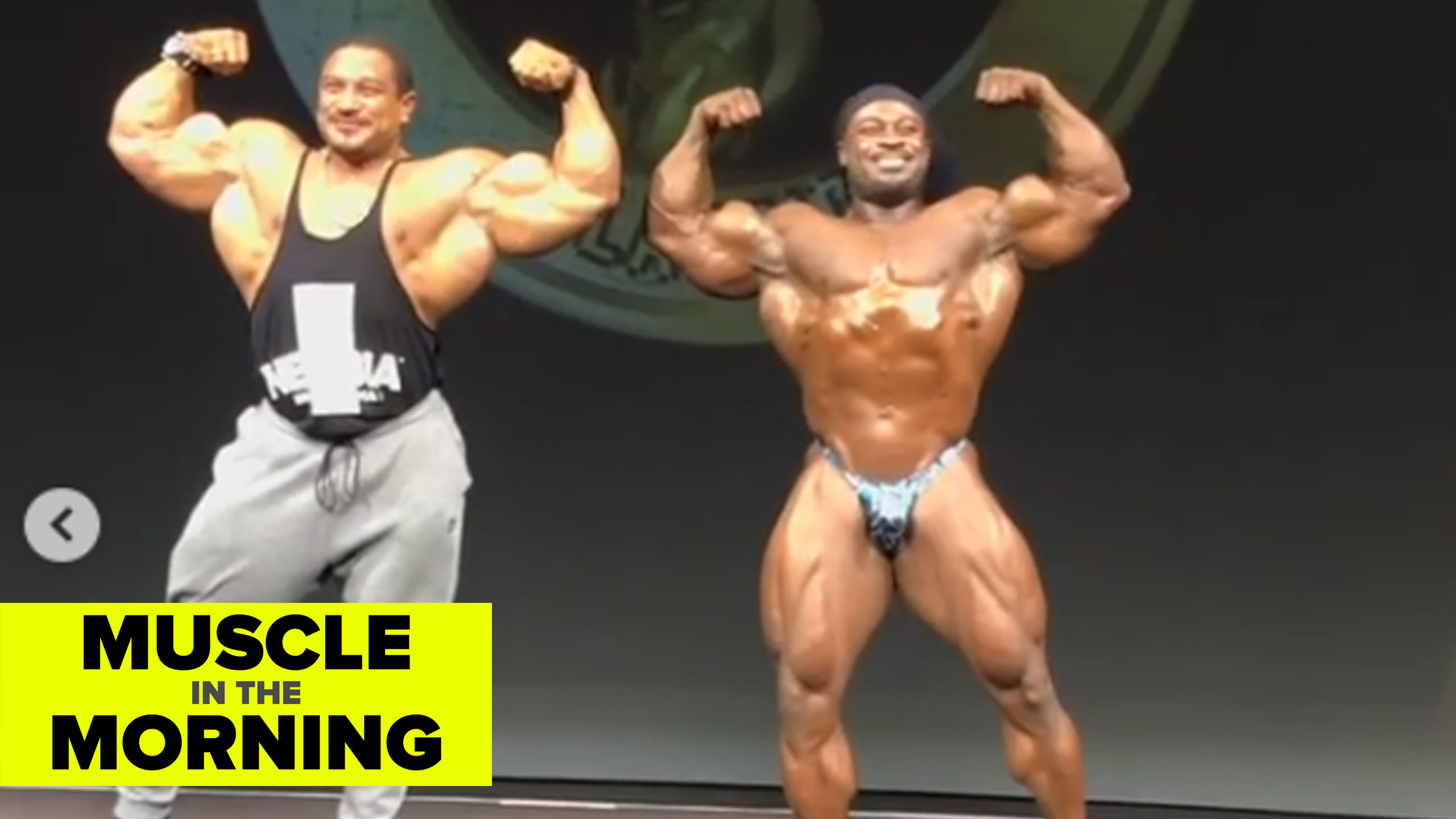 william bonac roelly winklaar guest posing