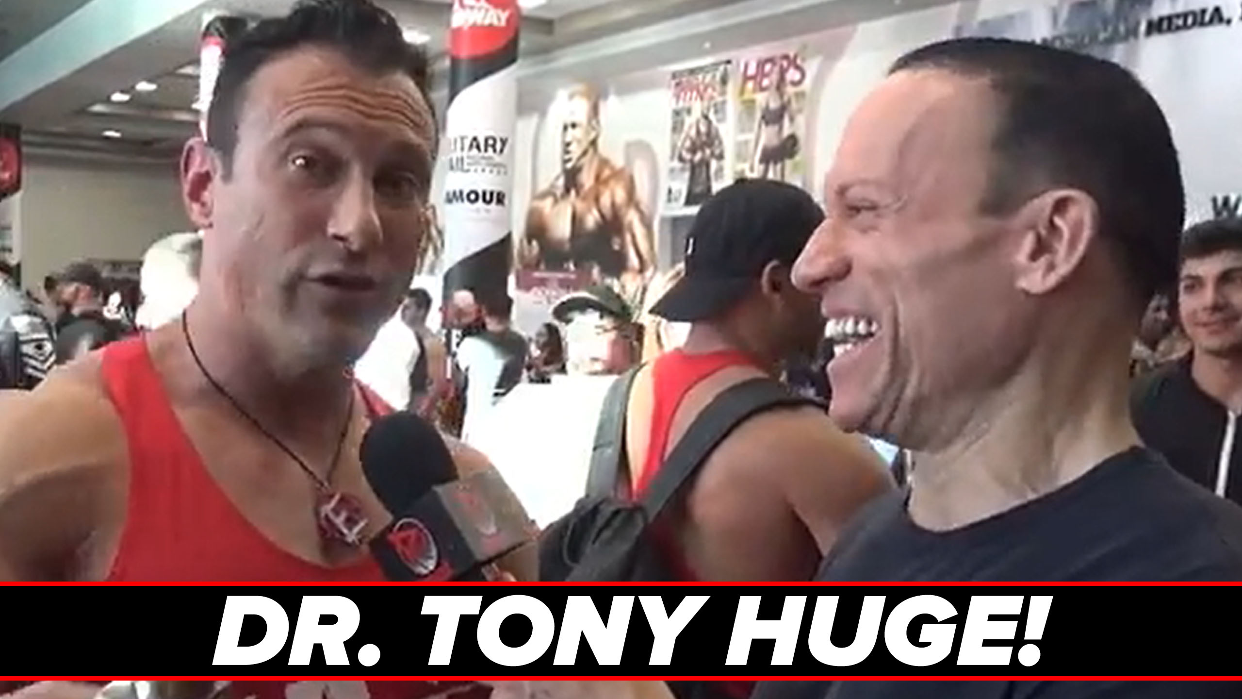 dr tony huge interview olympia 2018